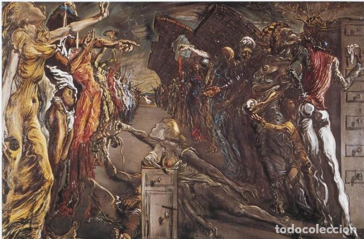 IMPRESIONANTE GRABADO DE DALI, PASILLO DE PALADIO CON SORPRESA ....,FIRMADO Y NUMERADO,50 X 65 CM (Arte - Grabados - Contemporáneos siglo XX)