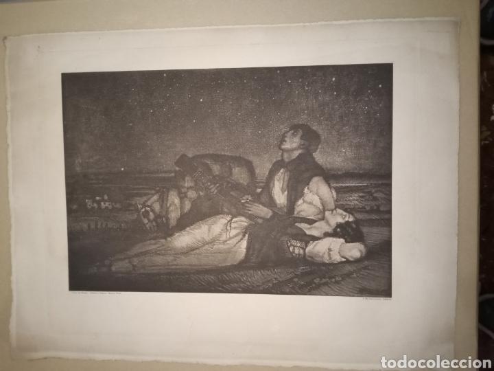 FEDERICO BELTRÁN MASSES GRABADO (Arte - Grabados - Contemporáneos siglo XX)