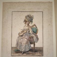 Arte: GRABADO MODA S. XVIII PARÍS. Lote 224795693