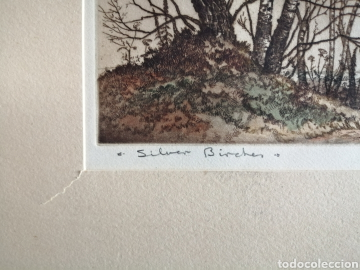 Arte: James Priddey (Birmingham 1916-1980).Grabado firmado y titulado. - Foto 3 - 224840816