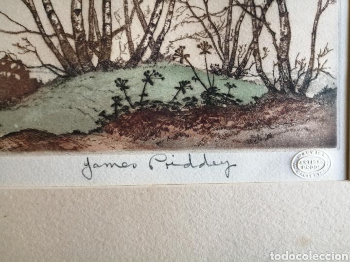 Arte: James Priddey (Birmingham 1916-1980).Grabado firmado y titulado. - Foto 4 - 224840816