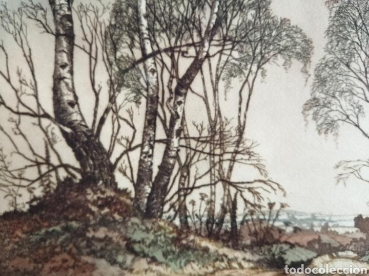Arte: James Priddey (Birmingham 1916-1980).Grabado firmado y titulado. - Foto 6 - 224840816