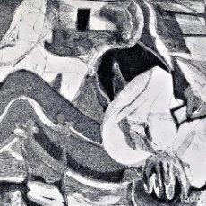 Arte: 4 GRABADOS. SOBRE PAPEL. FIRMADOS POR MANINI. EUROPA. SIGLO XX. Lote 224975588
