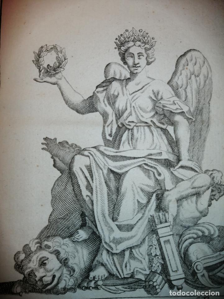 Arte: La Victoire sur l'Espagne (Victoria sobre España) S. Thomassin Fecit, Fr. Girardon Sculp. 1724. - Foto 3 - 225145266