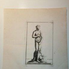 Arte: VENUS DE MEDICIS, S. THOMASSIN FECIT, AN COEBEVOX SCULP. 1724. PAPEL 24X20 CM.. Lote 225145542