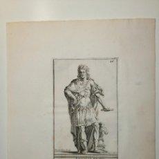 Arte: LOUIS LE GRAND. S. THOMASSIN FECIT, DES JARDINS SCULP. 1724. PAPEL 24X20 CM. Lote 225215595