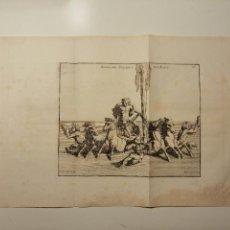Arte: APOLLON SORTANT DES EAUX. S. THOMASSIN FECIT, T. HOP. TUBI SCULP. 1724. PAPEL 24X41 CM. Lote 225215896