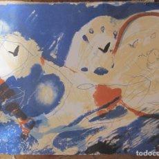 Arte: JOSEP GUINOVART. IMPORTANTE GRABADO. 1997. NUMERADO 25/250. 53,5X75CM. FIRMADO, FECHADO Y NUMERADO. Lote 225267670