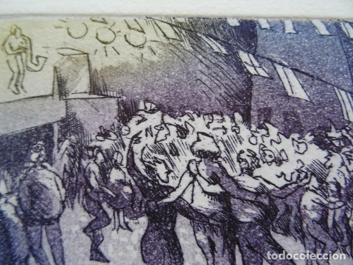 Arte: Grabado La Fiesta Grande - Foto 2 - 225331505