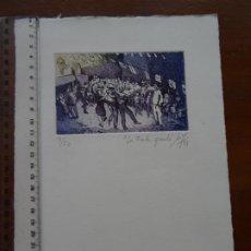 Arte: GRABADO LA FIESTA GRANDE. Lote 225331505