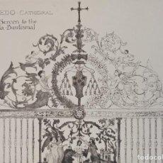 Arte: GRABADO ORNAMENTACIÓN RENACENTISTA, REJA C. BAUTISMAL CATEDRAL DE TOLEDO, DETALLES, 1893, PRENTICE. Lote 225995092