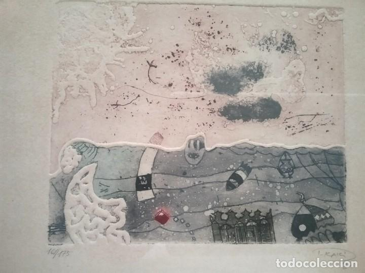 Arte: Grabado. Jafar T. Kaki. - Foto 2 - 226131635