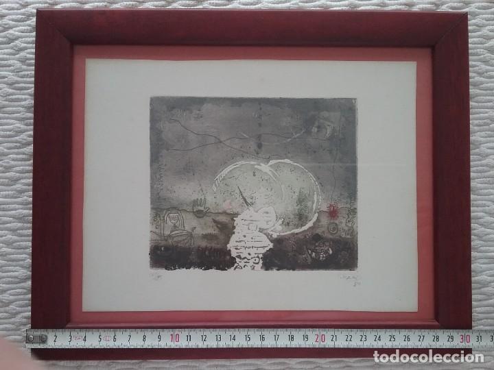 Arte: Grabado. Jafar T. Kaki. - Foto 2 - 226132125