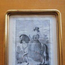 Arte: MARIA CRISTINA DE BORBON, REYNA DE ESPAÑA Y DE LAS YNDIAS. ANT. GUERRERO, ANT. VAZQUEZ . CA 1830. Lote 226590000