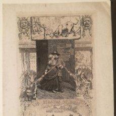 Arte: LES DESSOUS DE PARIS POR LEOPOLD FLAMENG (1831-1911). Lote 226601310