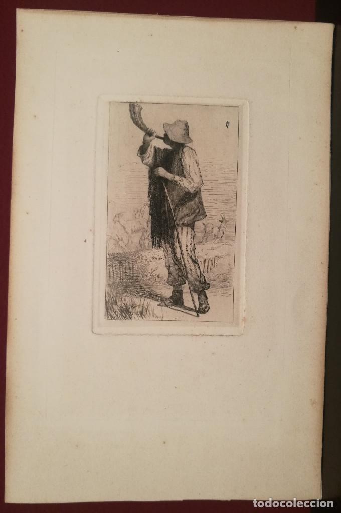 CABRERO POR CARLOS DE HAES (1829-98) (Arte - Grabados - Modernos siglo XIX)