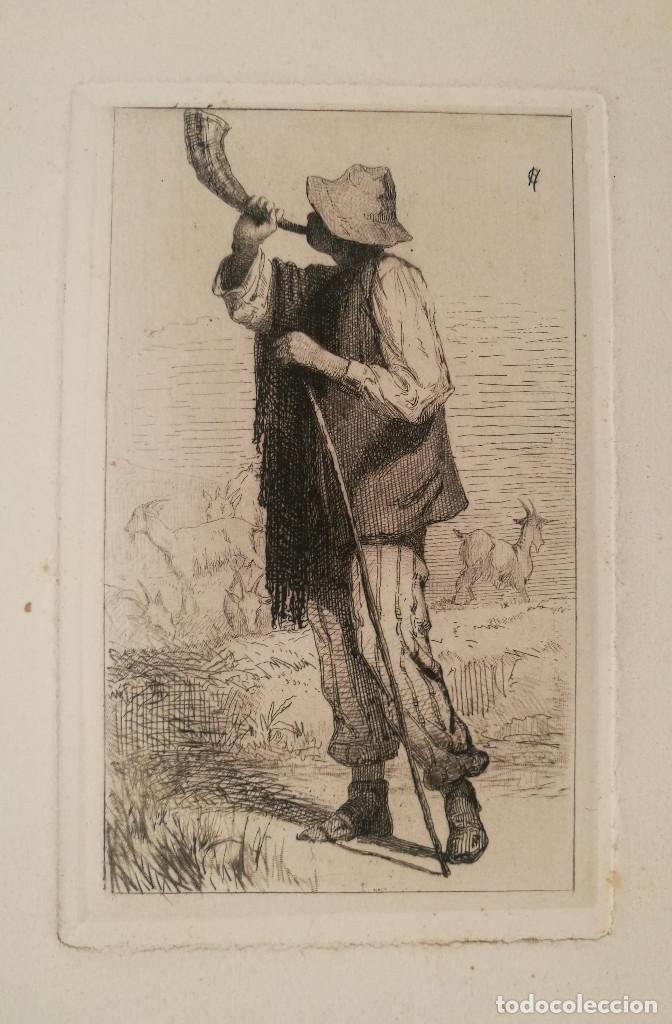 Arte: CABRERO POR CARLOS DE HAES (1829-98) - Foto 2 - 226602735
