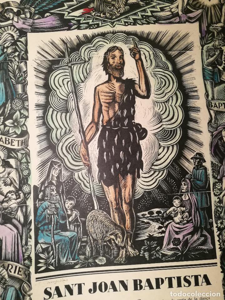 Arte: SANT JOAN BAPTISTA POR FRANCESC CANYELLES (1889-1938) - Foto 2 - 226608175