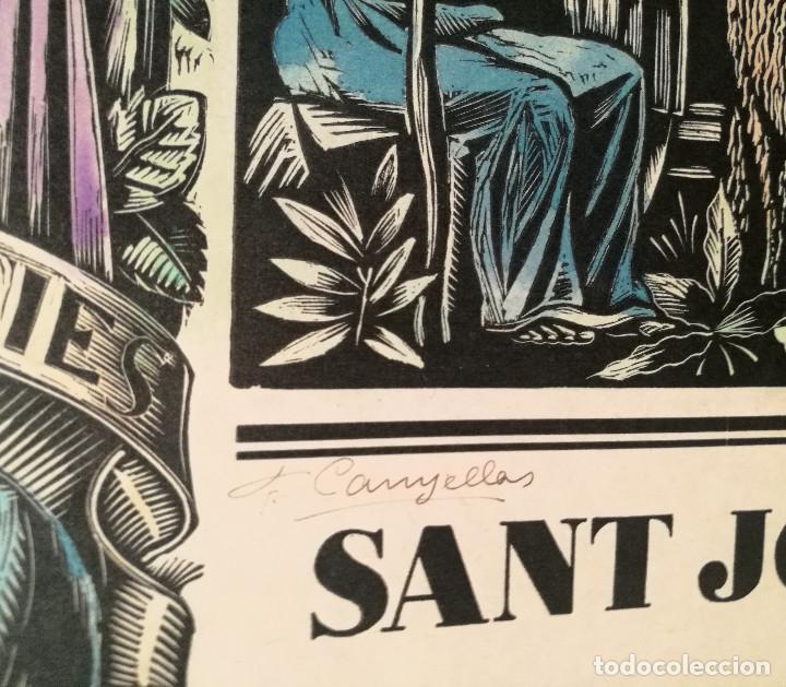 Arte: SANT JOAN BAPTISTA POR FRANCESC CANYELLES (1889-1938) - Foto 3 - 226608175