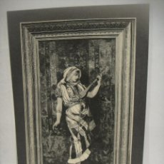 Arte: JOVEN MUSICO - GRABADO LITOGRAFICO -. Lote 227231435