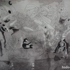 Arte: J0RGE CASTILLO-GRABADO DE GRAN FORMATO (97X131).EDICCION ESPECIAL III/XV ( 3/25). Lote 227844655