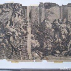 Arte: GRABADO ANTIGUO SIGLO XVIII POSIBLEMENTE. Lote 228710230