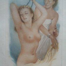 Arte: CABEDO TORRENTS.CUATRO GRABADOS AL AGUAFUERTE.NUMERADOS-866. Lote 228960035