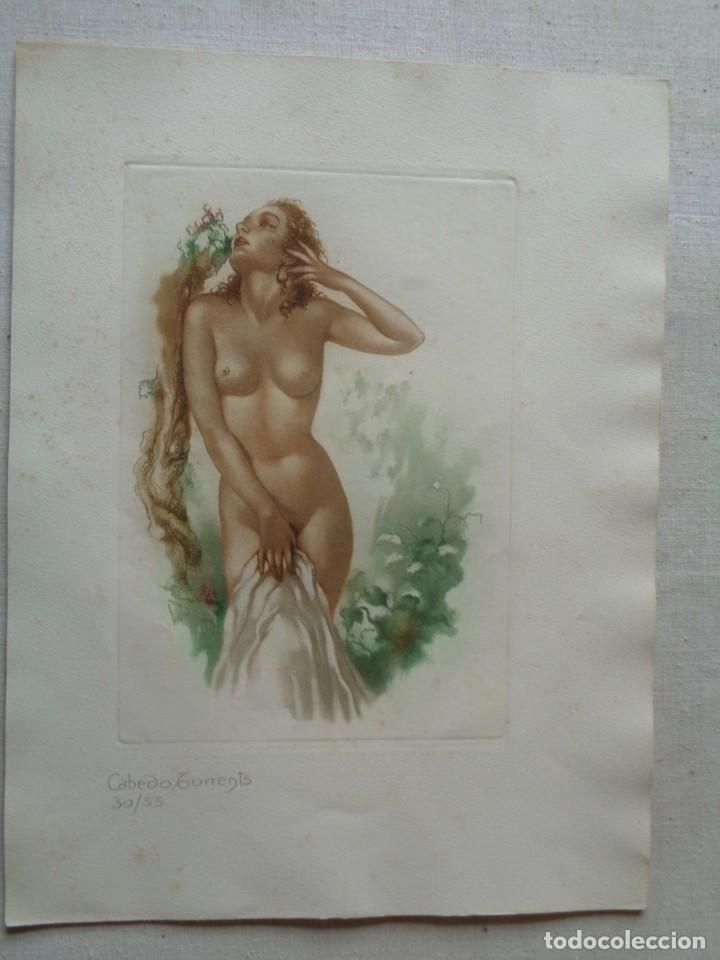 Arte: CABEDO TORRENTS.CUATRO GRABADOS AL AGUAFUERTE.NUMERADOS-866 - Foto 3 - 228960035