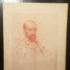 Arte: RETRATO MASCULINO POR RAMÓN CASAS (1866-1932). Lote 230264100