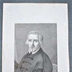 Arte: ALONSO CANO. PINTOR, ESCULTOR Y ARQUITECTO ESPAÑOL. GRABADO. 1852.. Lote 18269754