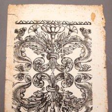 Arte: XILOGRAFIA - IMPRENTA LUIS ROCA - MANRESA - C. 1850. Lote 230361360