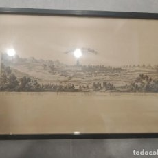 Arte: ROSES EN CATALOGNE, 1693. SELLO DE LA CALCOGRAFÍA LOUVRE, SEBASTIEN PONTAULT BEAULIEU (S. XIX). Lote 230455285