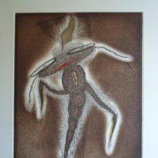 Arte: ZUSH (BARCELONA 1946) (ALBERT PORTA MUÑOZ) GRABADO DE 32X23CMS EN PAPEL DE 56X38CMS, FIRMADO Y 22/75. Lote 230627455