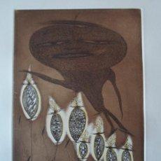 Arte: ZUSH (BARCELONA 1946) (ALBERT PORTA MUÑOZ) GRABADO DE 32X23CMS PAPEL 56X38CMS, FIRMADO Y 74/75. Lote 230630075