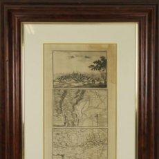 Arte: BEAULIEU, PEREL - GRABADO CLÁSICO AL AGUAFUERTE. GIRONE, ESPAÑA.. Lote 230651845