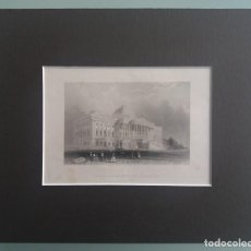 Arte: MEYER (XIX) - 6 ENGRAVINGS OF 19TH CENTURY. AMERICAN PLACES.. Lote 230652535
