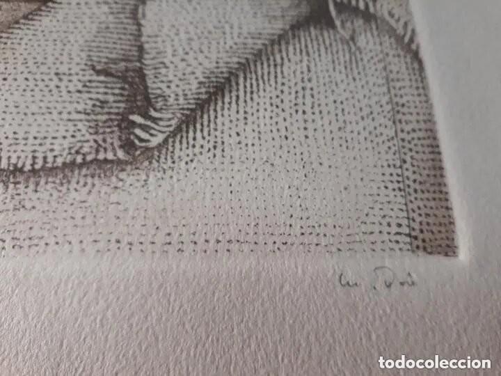 Arte: Grabado artista Manuel Boix (lAlcudia) El de Joan J Trama de grabador estampado año 1978 Valencia - Foto 3 - 230873635