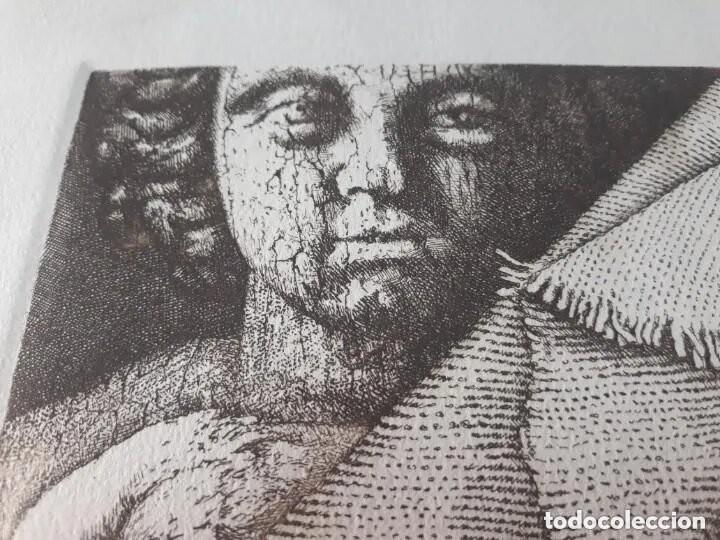 Arte: Grabado artista Manuel Boix (lAlcudia) El de Joan J Trama de grabador estampado año 1978 Valencia - Foto 4 - 230873635