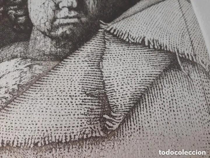 Arte: Grabado artista Manuel Boix (lAlcudia) El de Joan J Trama de grabador estampado año 1978 Valencia - Foto 5 - 230873635