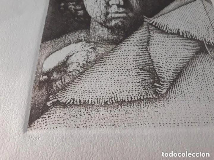 Arte: Grabado artista Manuel Boix (lAlcudia) El de Joan J Trama de grabador estampado año 1978 Valencia - Foto 6 - 230873635