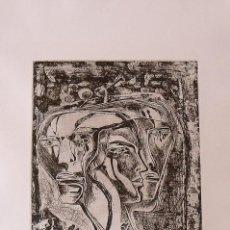 Arte: RAUL CAPITANI. ROSTROS DE PERSONAJES. SIN FIRMAR. BUEN ESTADO. 51X36 CM. PISADA 32,5X25 CM.. Lote 230877260
