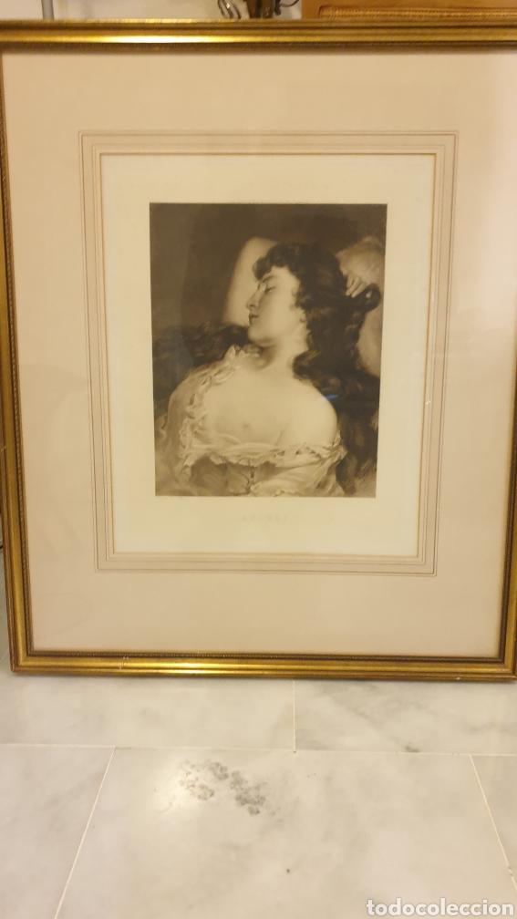 Arte: Pareja de grabados principios del XX Joseph Heynes (1760 - 1829) enmarcados - Foto 2 - 231059660