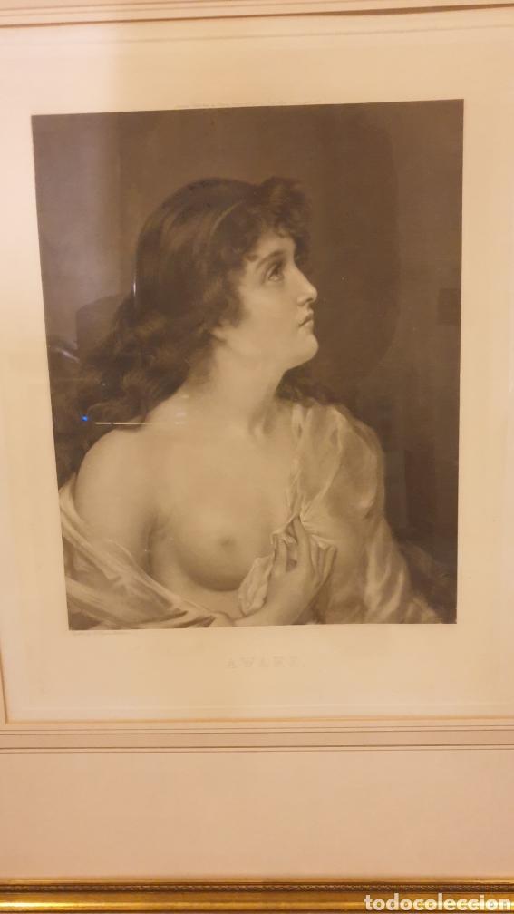Arte: Pareja de grabados principios del XX Joseph Heynes (1760 - 1829) enmarcados - Foto 3 - 231059660