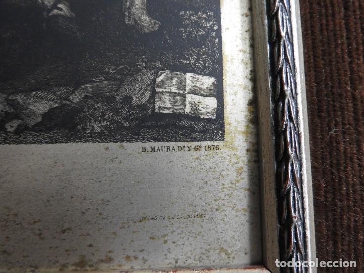 Arte: CUADRO GRABADO SOBRE COBRE PLATEADO RENDICION DE BREDA DE VELAZQUEZ - Foto 5 - 231379395