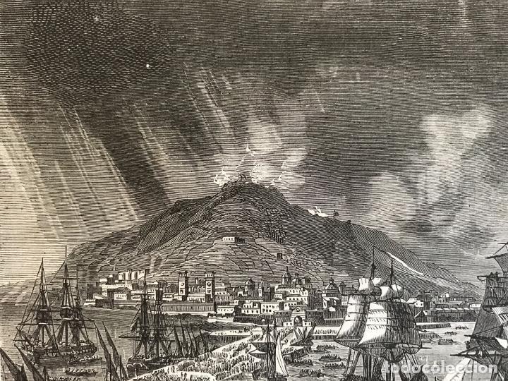 Arte: Tropas inglesas en A Coruña en 1809 y abolición de la Inquisición en España, ca. 1950. - Foto 4 - 231656960