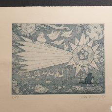 Arte: GRABADO DE PERIAÑEZ. FIRMADO Y FECHADO EN 1997. 9/50. Lote 231775515