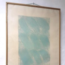 Arte: GRABADO /20 - FRANCESC GUITART (ESPARREGUERA, BARCELONA 1936) - FIRMADO Y FECHADO. Lote 231824650