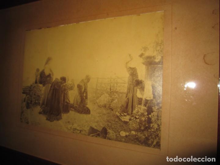 Arte: Fotograbado circa 1900 firmado dedicado Joaquín Luque Roselló Carlos Lamothe, Salve Regina. Málaga - Foto 4 - 232740310