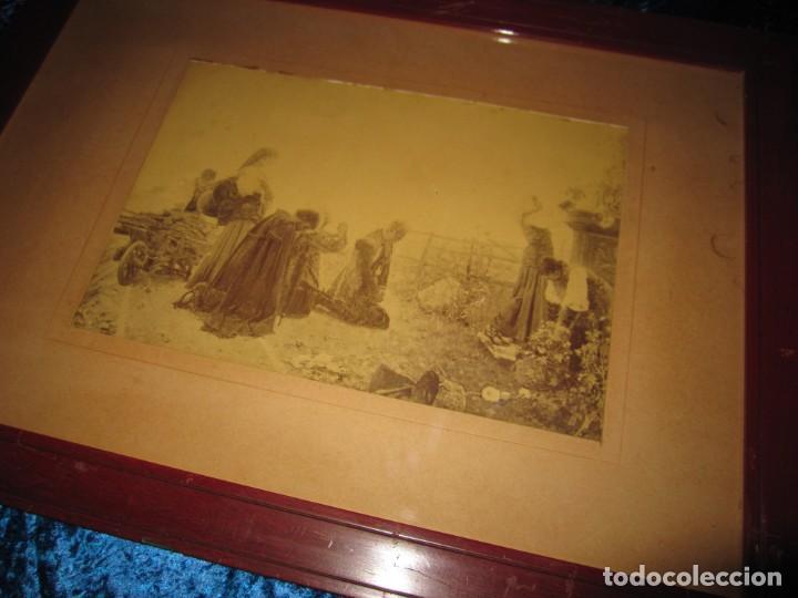 Arte: Fotograbado circa 1900 firmado dedicado Joaquín Luque Roselló Carlos Lamothe, Salve Regina. Málaga - Foto 6 - 232740310