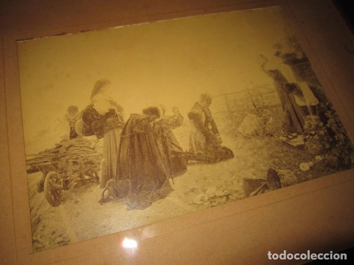 Arte: Fotograbado circa 1900 firmado dedicado Joaquín Luque Roselló Carlos Lamothe, Salve Regina. Málaga - Foto 7 - 232740310